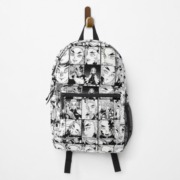 Rengoku kyojuro- collage black and white version Backpack