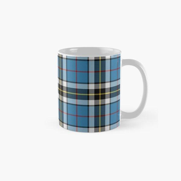Thompson Blue Dress Tartan | Clan Thomson | Cute Tartan Classic Mug