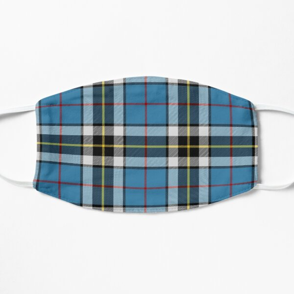 Thompson Blue Dress Tartan | Clan Thomson | Cute Tartan Flat Mask