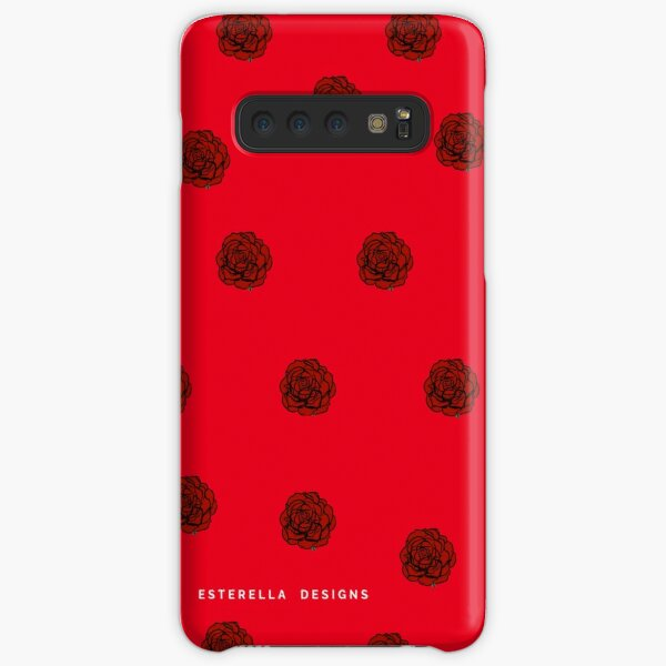 Red roses  Samsung Galaxy Snap Case