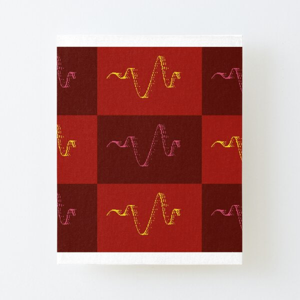 Pop art sound Canvas Mounted Print