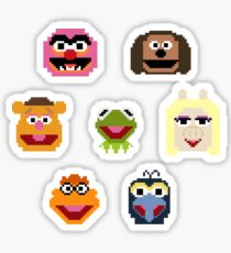 8-Bit Muppets Sticker