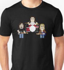 8-Bit Grunge Band Unisex T-Shirt