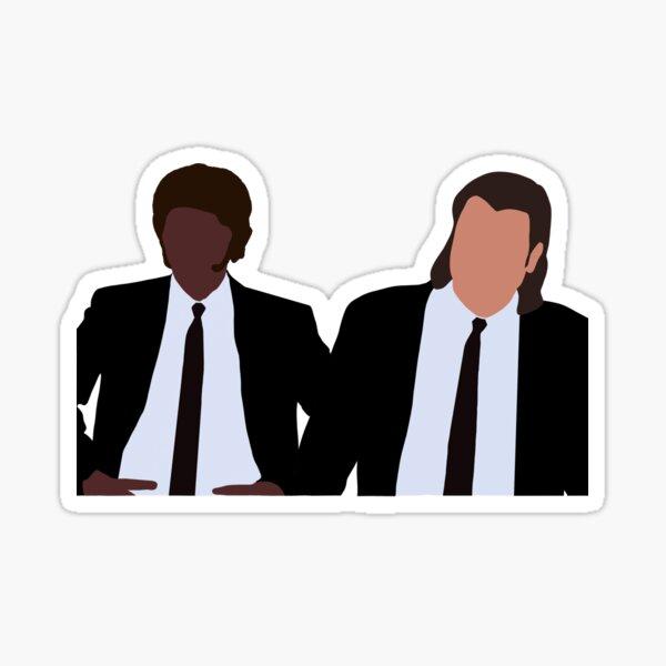 Pulp Fiction Jules Winnfield and Vincent Vega Sticker