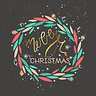 Merry Wreath by David & Kristine Masterson
