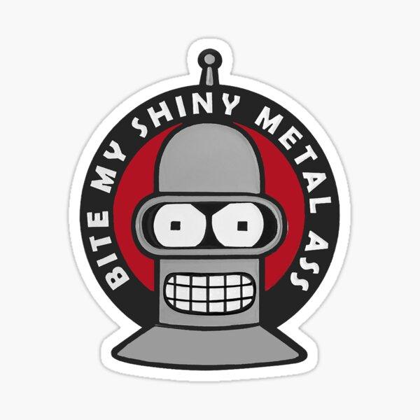 Bender Bite My Ass - Futurama  Sticker
