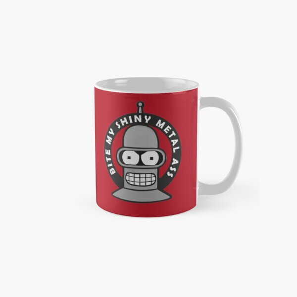 Bender Bite My Ass - Futurama  Classic Mug
