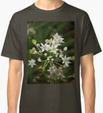 Garlic chive flowers Classic T-Shirt
