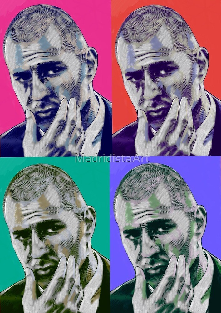 Karim Benzema by MadridistaArt
