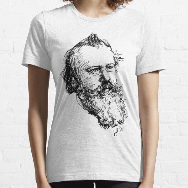 Brahms drawing in black Essential T-Shirt