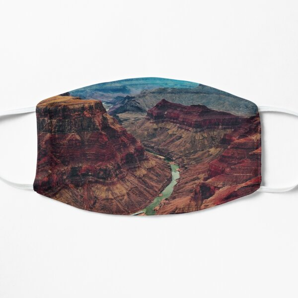 Grand Canyon National Park Arizona, Colorado River Mask