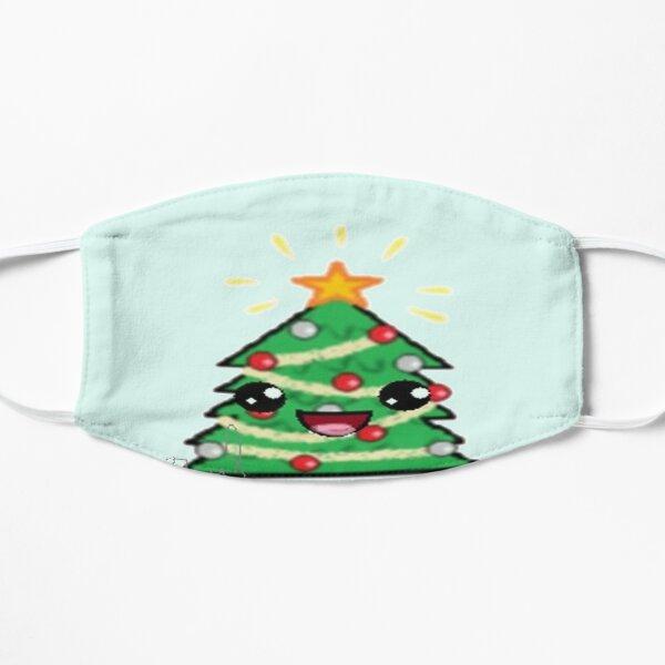 Kawaii Christmas Tree Flat Mask