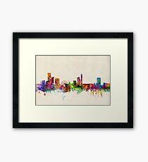 Birmingham England Skyline Cityscape Framed Print