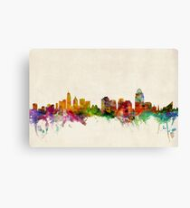Cincinnati Ohio Skyline Cityscape Canvas Print