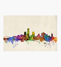 Milwaukee Wisconsin Skyline Cityscape Photographic Print