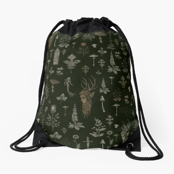 Forest and Field Guardian  Drawstring Bag
