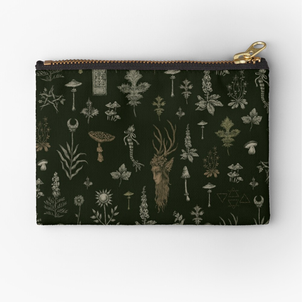 Forest and Field Guardian  Zipper Pouch