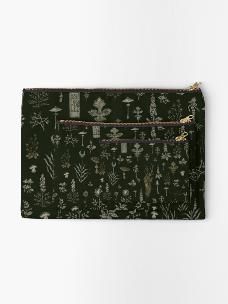 Alternate view of Forest and Field Guardian  Zipper Pouch