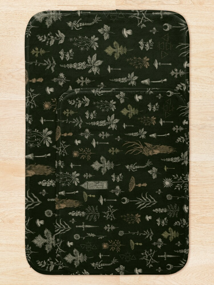 Alternate view of Forest and Field Guardian  Bath Mat