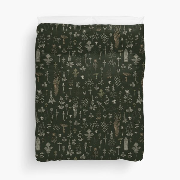 Forest and Field Guardian  Duvet Cover