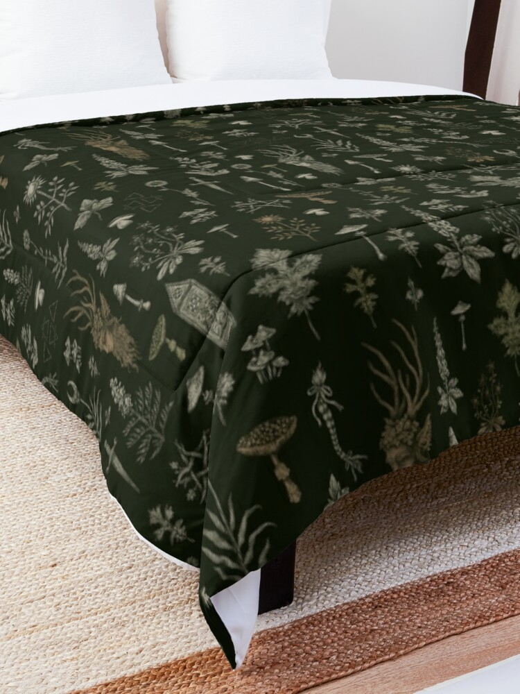 Alternate view of Forest and Field Guardian  Comforter