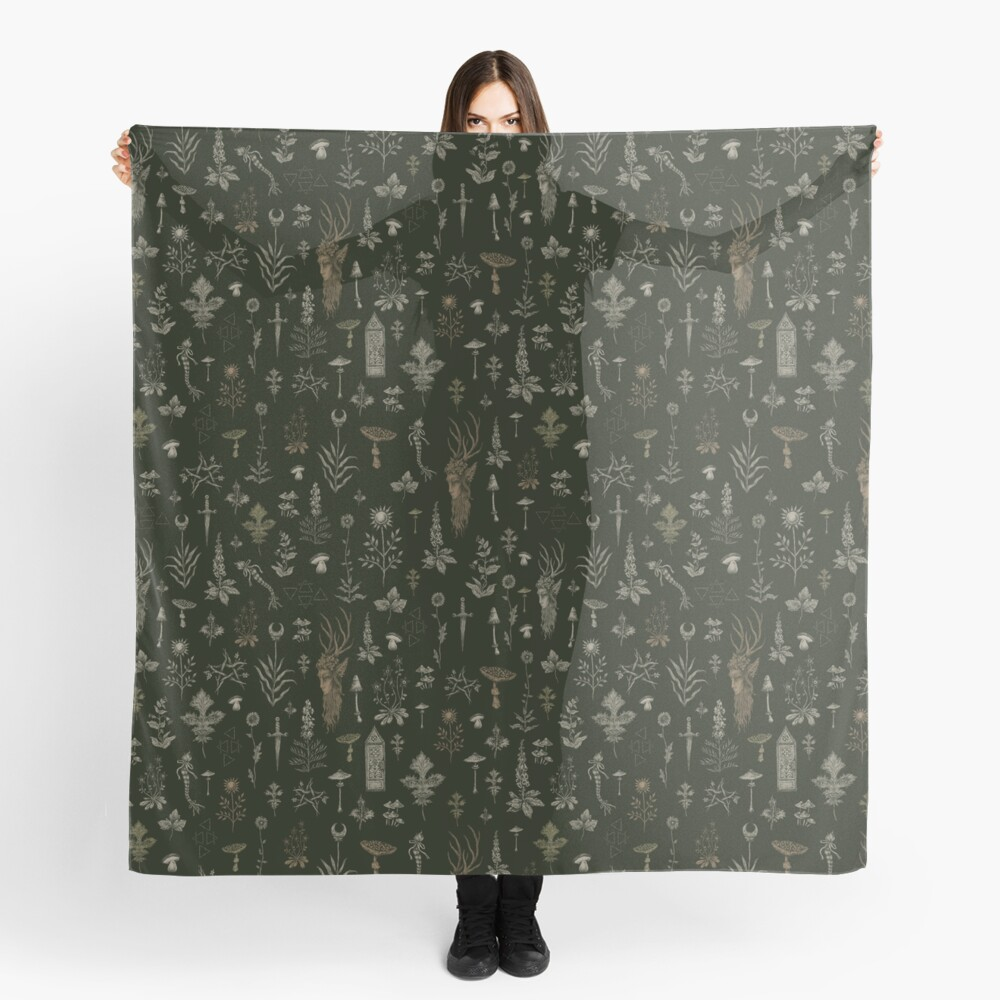 Forest and Field Guardian  Scarf
