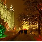 Christmas, Salt Lake City by Charmiene Maxwell-Batten