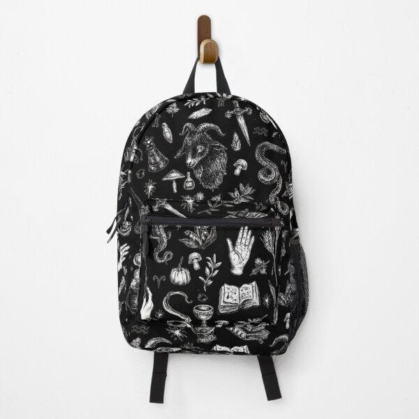 Salem Witch in Black Backpack