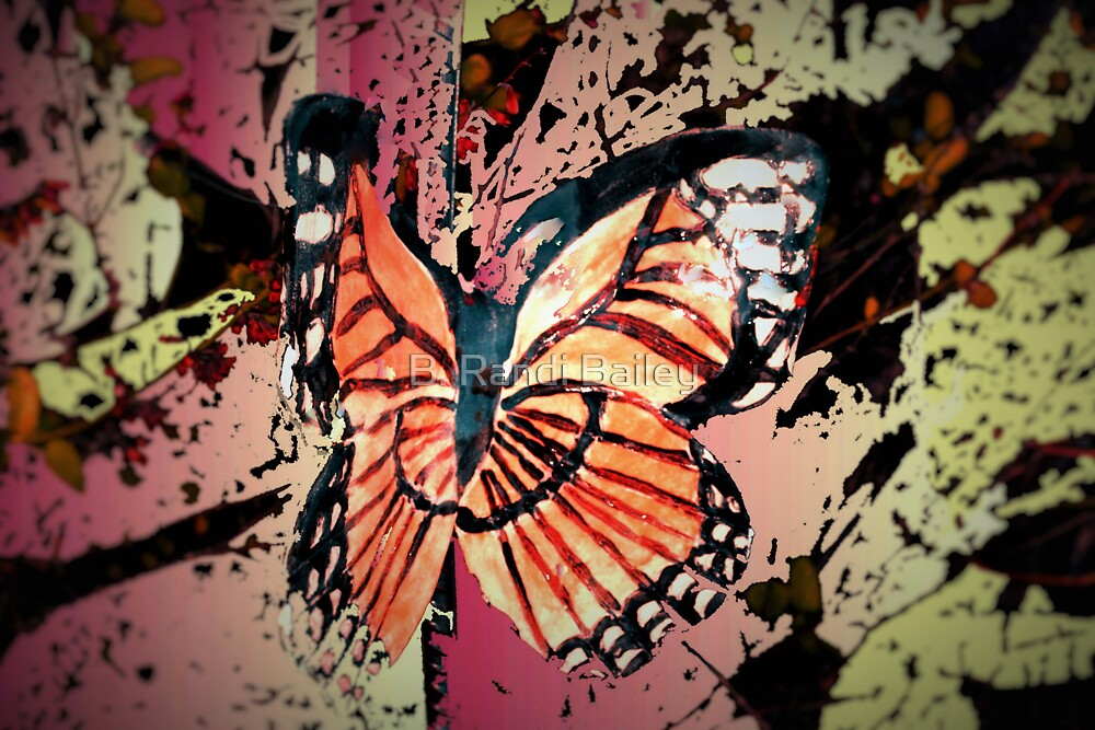 Autumn butterfly graphic by ♥⊱ B. Randi Bailey