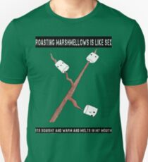 sex is like marshmallows! :D T-Shirt
