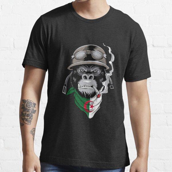Algérie casque motocycliste motocycliste T-shirt essentiel