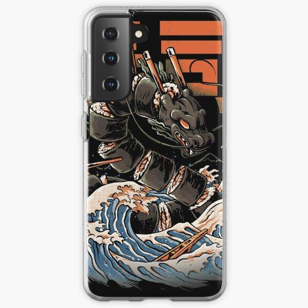 The Black Sushi Dragon Samsung Galaxy Soft Case