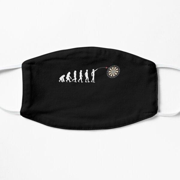 Darts Evolution Design for a Dart Player Flat Mask