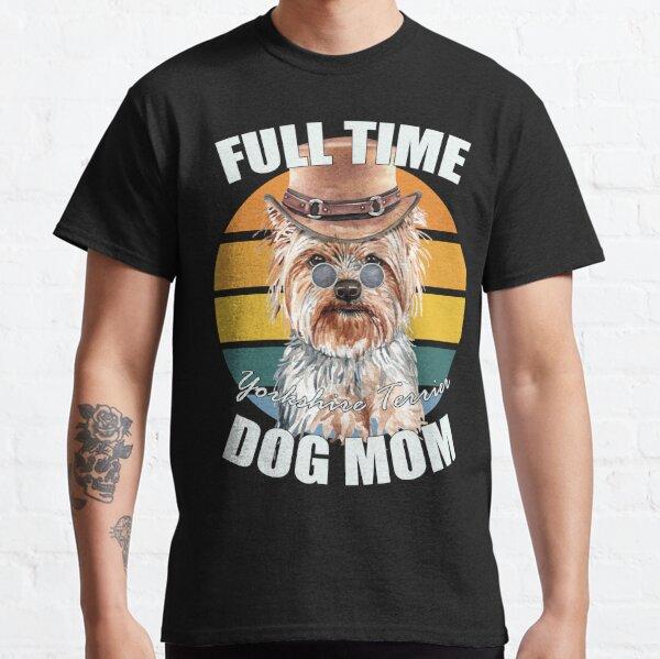 Yorkshire Terrier Dog Breed Vintage Gentleman Steampunk Hat Custom T Shirt
