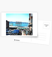 Pike Place Postcards