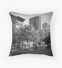 Swanston Street Throw Pillow