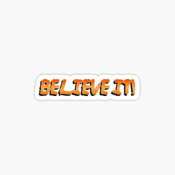 Crois le! Sticker