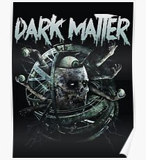 dark matter graffiti logo Poster