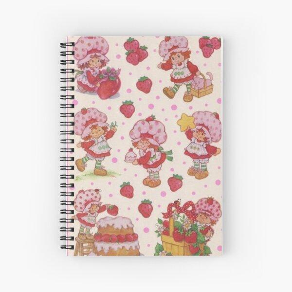 vintage strawberry shortcake Spiral Notebook