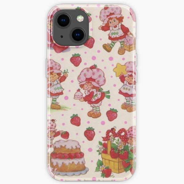 vintage strawberry shortcake iPhone Soft Case