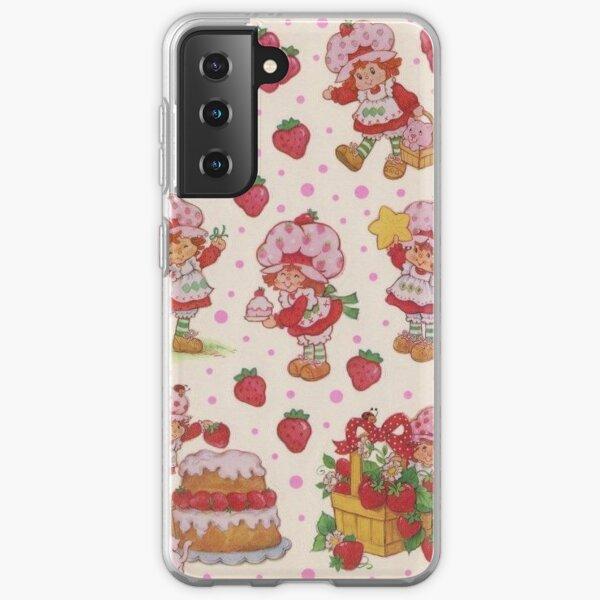 vintage strawberry shortcake Samsung Galaxy Soft Case