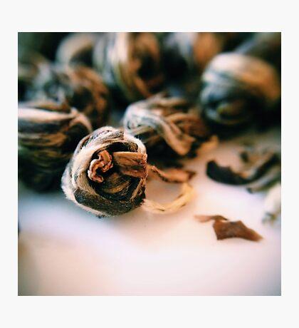 Jasmine Tea Pearls Photographic Print