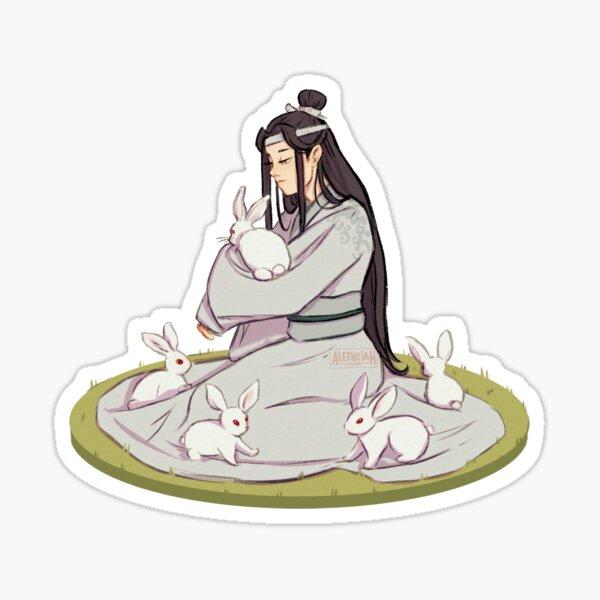 Lan Zhan ♡ Pegatina