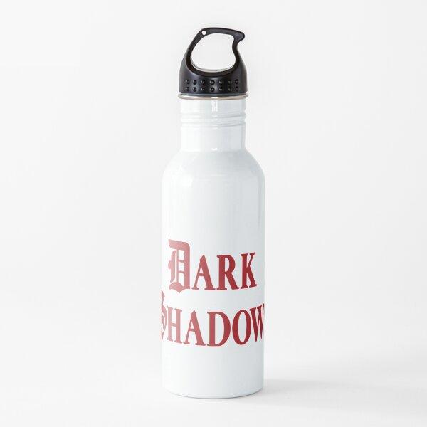 Sombras oscuras Botella de agua