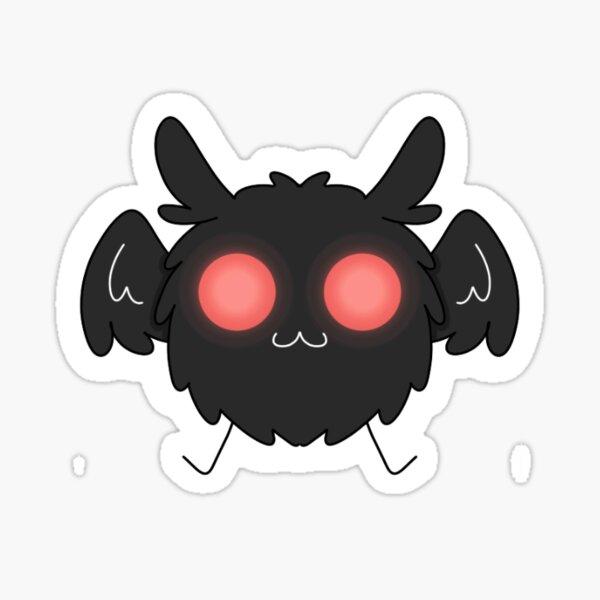 chibi mothman Sticker