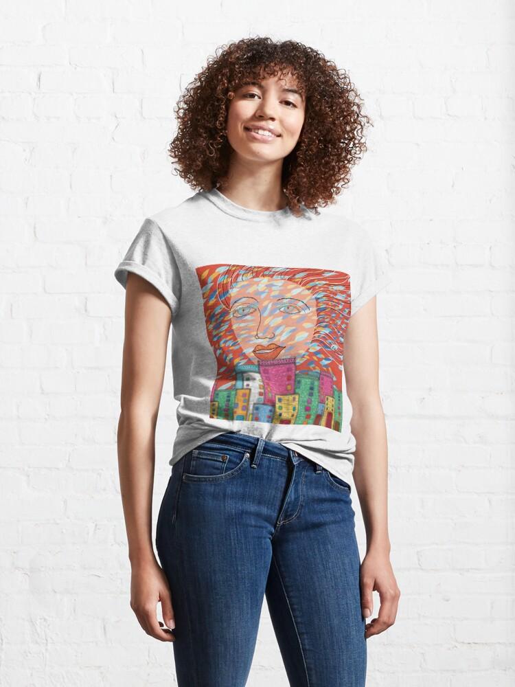 Alternate view of The Spirit of Autumn Classic T-Shirt