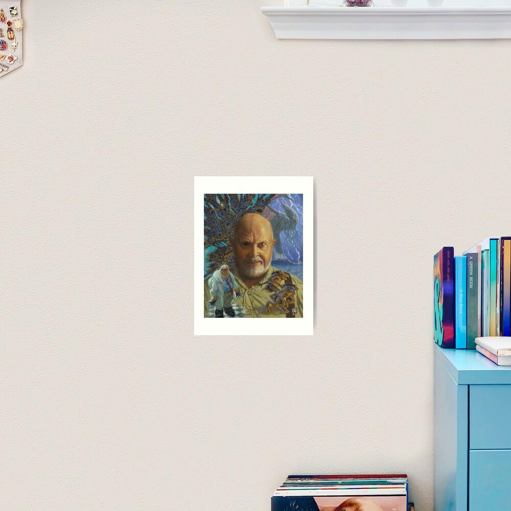 Sandy of Cthulhu portrait Art Print