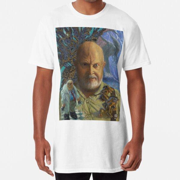 Sandy of Cthulhu portrait Long T-Shirt