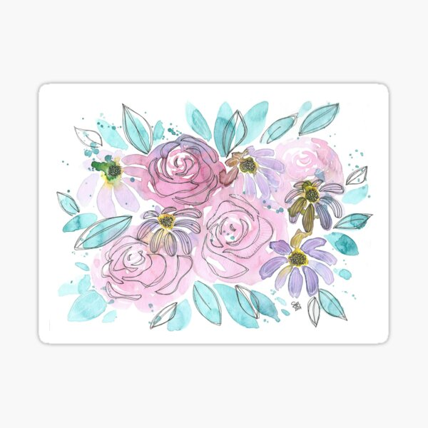 Bunch of Blossoms Sticker