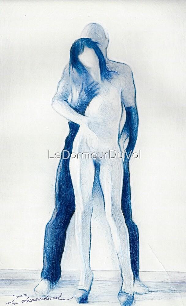 Couple en Bleu by LeDormeurDuVol